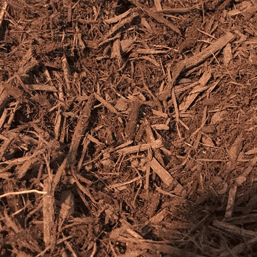 Regular Brown Dyed Mulch